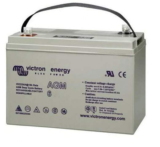 Victron Energy 6V-240Ah AGM Deep Cycle Battery - Sea People Depot