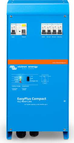 Victron Easyplus Compact 12/1600/70-36 230v ve.Bus Inverter Charger - Sea People Depot