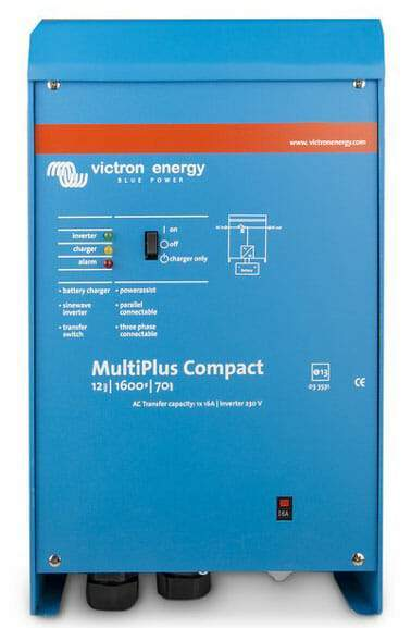 Victron Multiplus Compact 24/1200/25-16 230V VE.BUS Inverter Charger - Sea People Depot