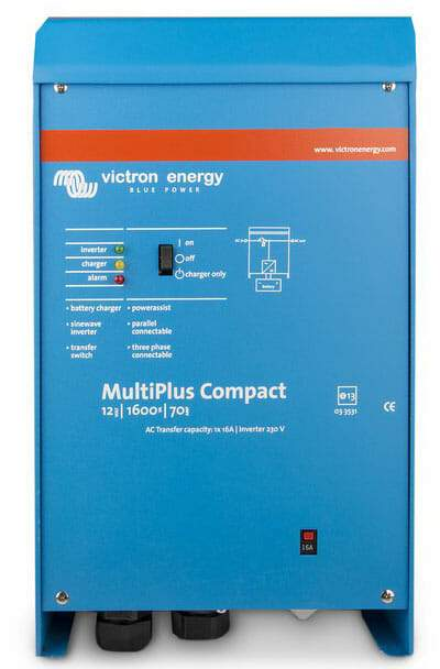 Victron Multiplus Compact 24/1600/40-16 230V VE.BUS Inverter Charger - Sea People Depot
