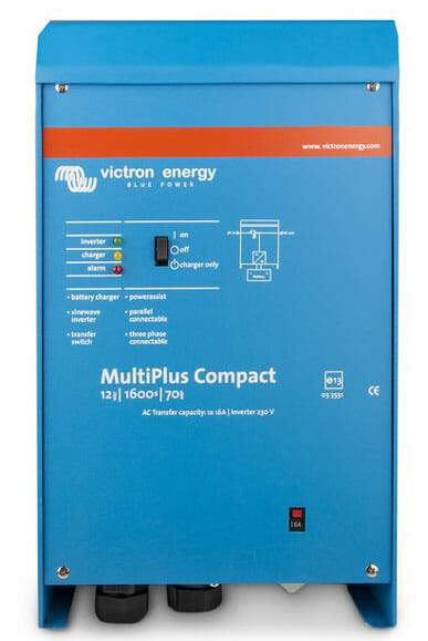Victron Multiplus Compact 24/800/16-16 230V VE.Bus Inverter Charger - Sea People Depot