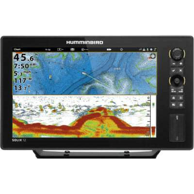 Humminbird SOLIX 12 Chirp GPS Combo - Sea People Depot