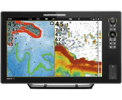 Humminbird SOLIX 15 Chirp Chartplotter/Fishfinder - Sea People Depot