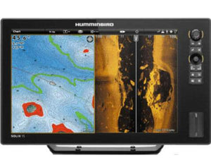 Humminbird Solix 15 Chirp Mega SI GPS Combo - Sea People Depot