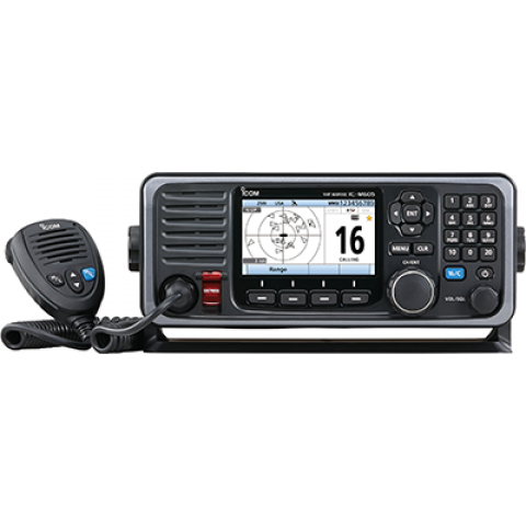 ICOM M605 Fixed Mount VHF Marine Transceiver - Sea People Depot