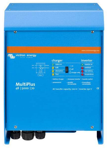 Victron MultiPlus 24/5000/120-100 230V VE.BUS Inverter Charger - Sea People Depot