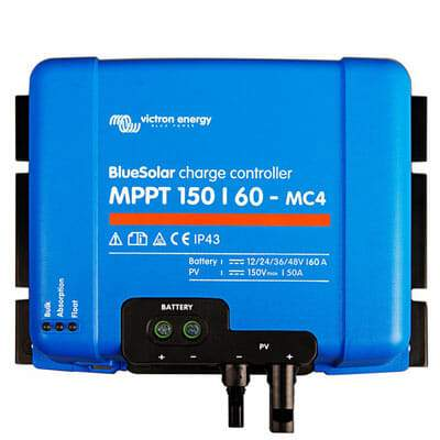 Victron Energy BlueSolar MPPT Charge Controller 150/60-MC4 - Sea People Depot