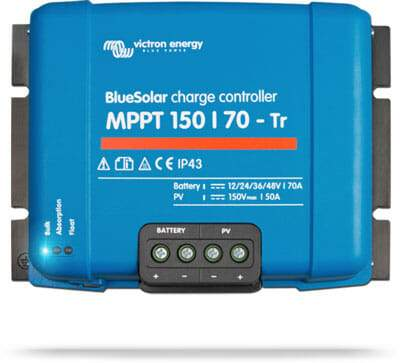 Victron Energy BlueSolar MPPT Charge Controller 150/70-Tr - Sea People Depot