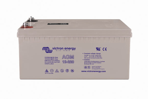 Victron Energy AGM 12V-220Ah Battery - Sea People Depot