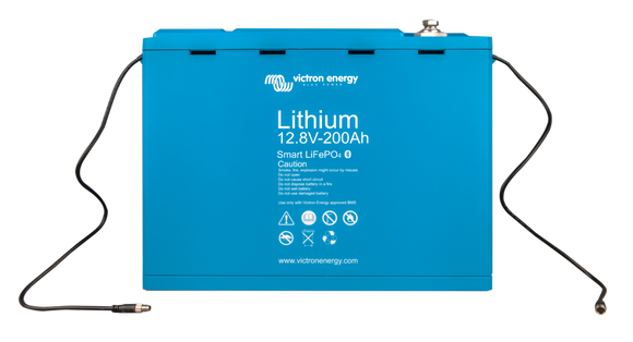 Victron Energy LifePO4 Battery 12,8V/200AH - SMART - Sea People Depot