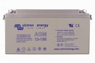 Victron Energy 12V-165Ah AGM Deep Cycle Battery