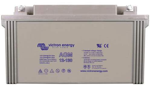 Victron Energy 12V-66Ah AGM Deep Cycle Battery - Sea People Depot