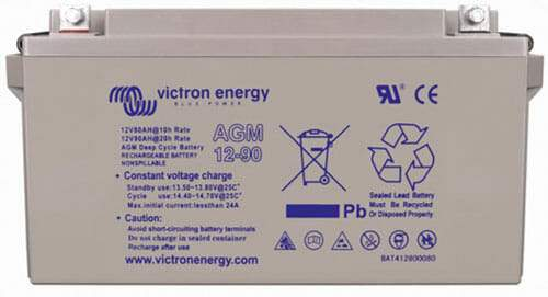 Victron Energy AGM 12V-90Ah Battery - Sea People Depot