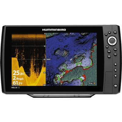 Humminbird Helix 12 CHIRP DI GPS G2N Chartplotter/Fishfinder - Sea People Depot
