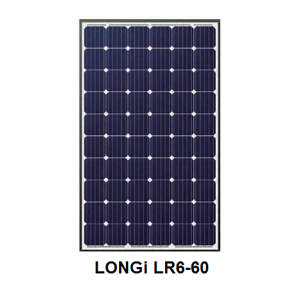 LONGi LR6-60-290M 290W Solar Panel - Sea People Depot