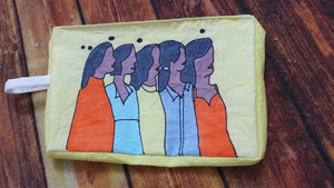 Poster girls pouch