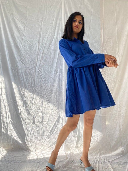 Monday blues dress