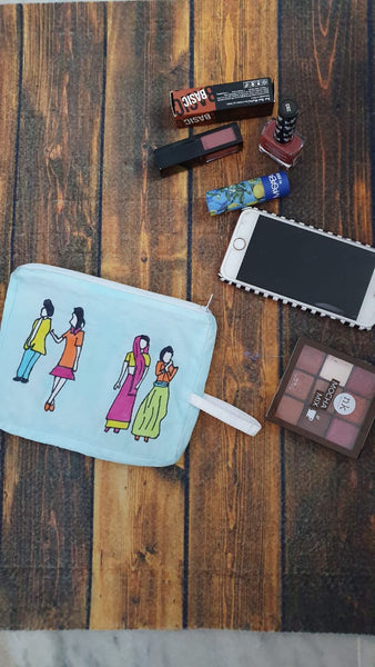 Characters pouch