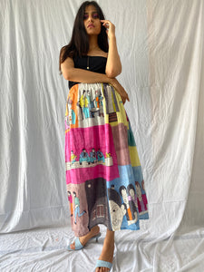 """Around the town"" skirt"