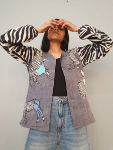 LADY ZEBRA jacket