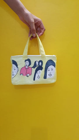 Pretty faces bag