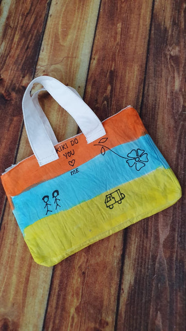 Handpainted bags