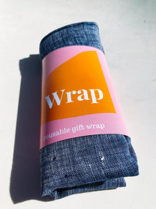 Wrap - Denim