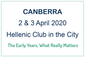 CANBERRA - The Early Years, What Really Matters