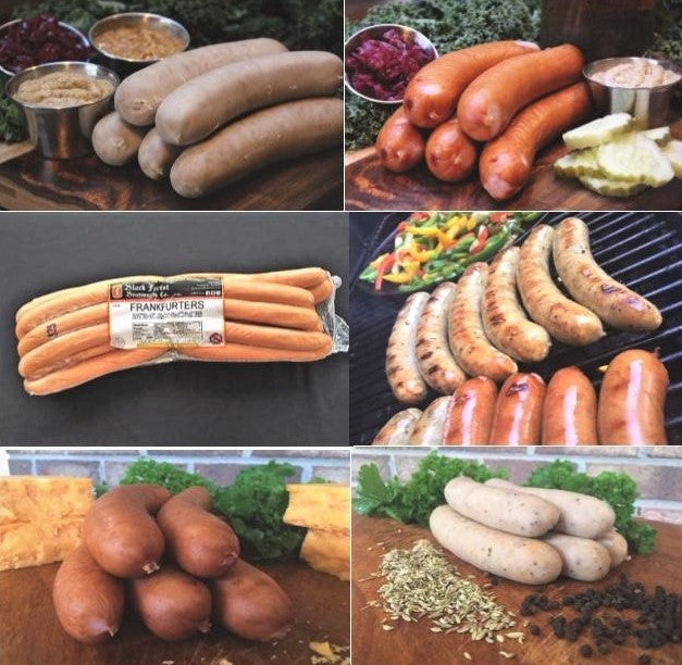 The Classic Grill Pack (6lb.) - Black Forest Bratwurst Co.