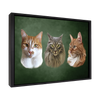 Custom Pet Portrait - 3 Pets
