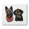Hand Painted Portrait - 2 Dogs