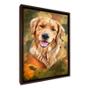 Custom Pet Portrait - 1 Pet – Camo - My Pooch Face