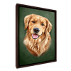 Custom Pet Portrait - 1 Pet – Olive - My Pooch Face