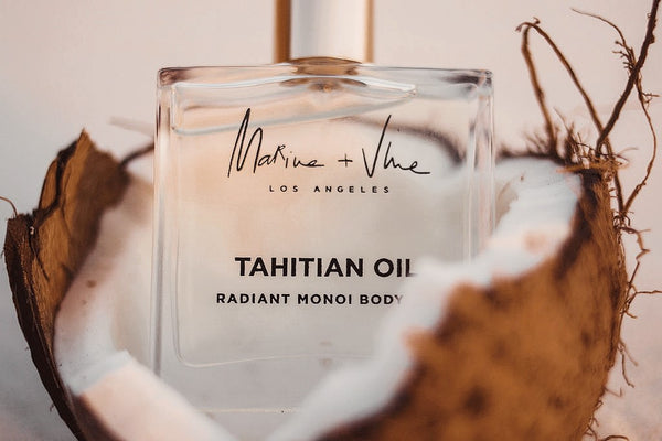 MEET TAHITIAN OIL'S HERO INGREDIENT:  MONOI OIL