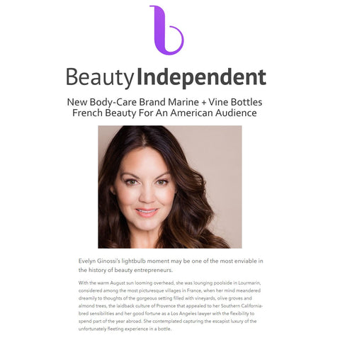 Beauty Independent - Marine and Vine Tahitian Oil