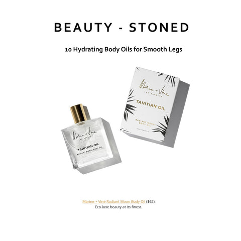 BEAUTY STONED | BODY OIL FOR SMOOTH LEGS