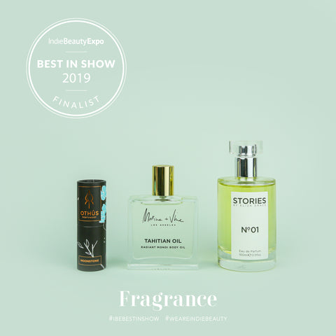 Indie Beauty Expo 2019 - Best In Show Fragrance - Marine and Vine - Tahitian Oil
