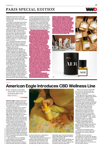 WWD | Paris Special Edition | Marine + Vine | Tahitian Oil | Tahitian Balm | Pitti Fragranze