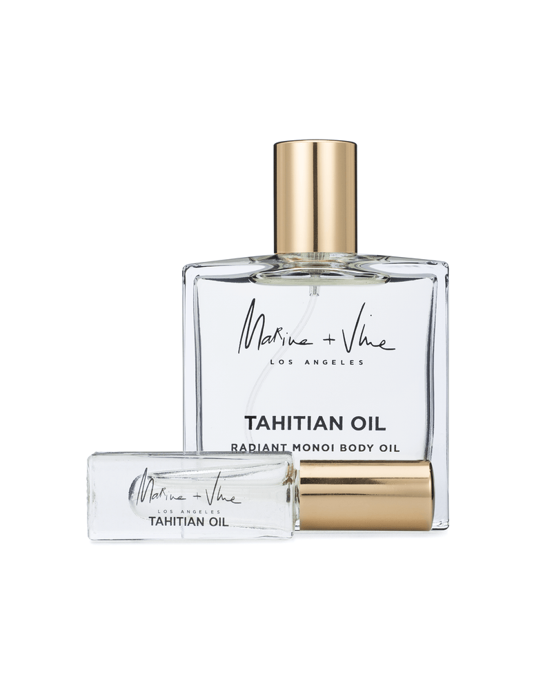 TAHITIAN OIL | RADIANT MONOI BODY OIL | MINI DELUXE 4ML