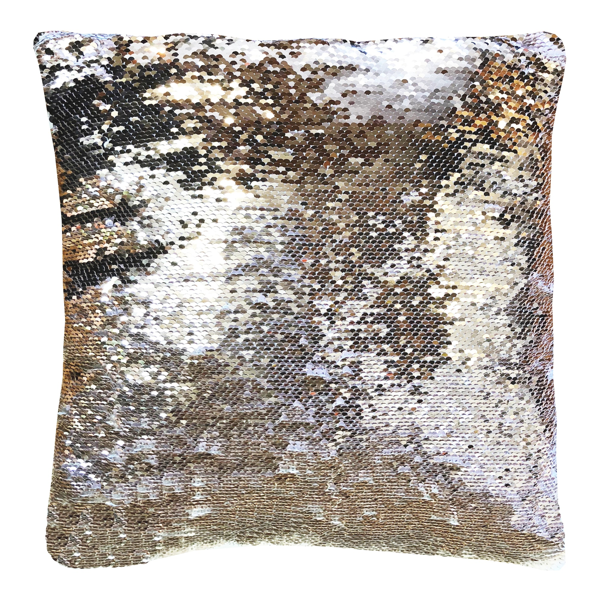 pillow sequin silver products magic white gold apr pm photo