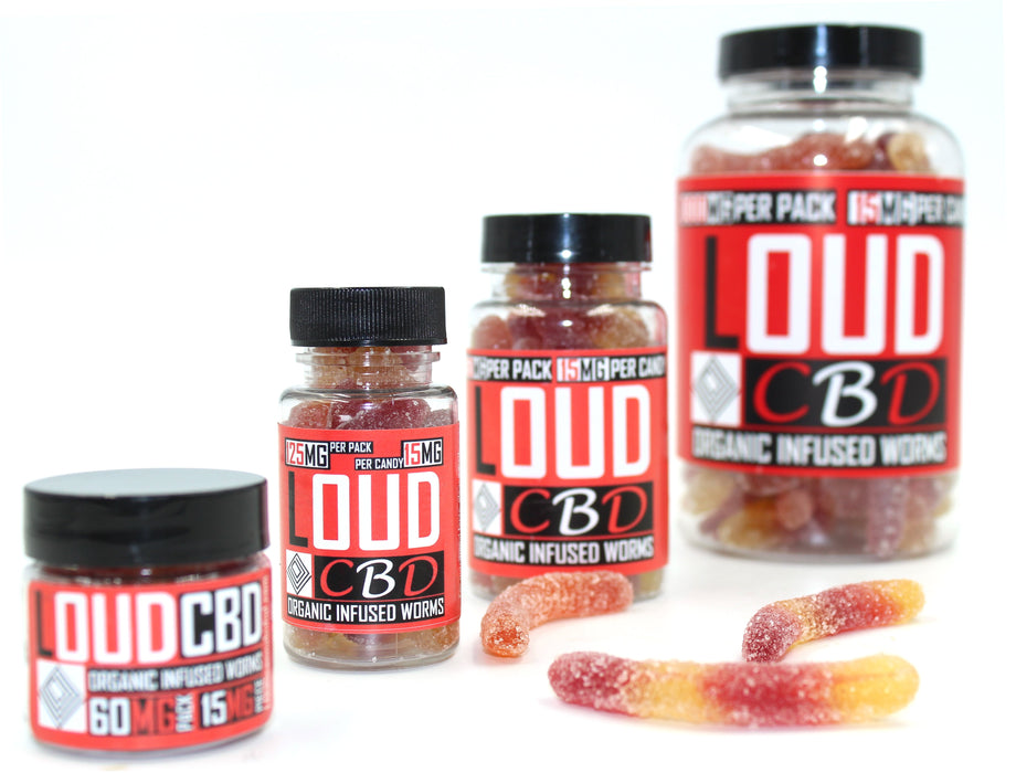 Infused Gummy Worms