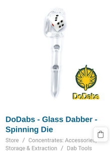 DO DAB Dice Glass Dab Stick