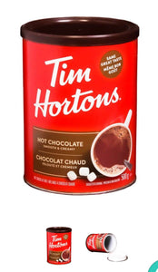 Tim Horton's Hot Chocolate Stash Can