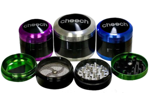 Cheech Two-Tone 4pc Grinder