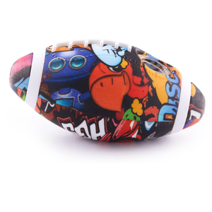 Silicone Graphic Football