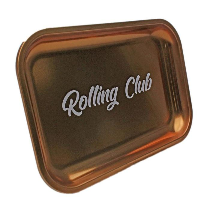 Rolling Club Metal Rolling Tray