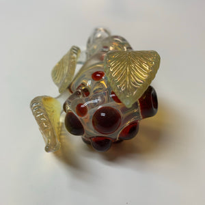 "Oleg Glassworks 5"" 3 Leaf Pipe"