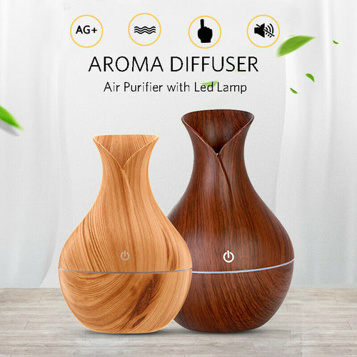 Ultrasonic Aroma Humidifier & Diffuser - Large