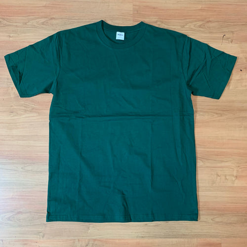 Blank Tee's - Forest green