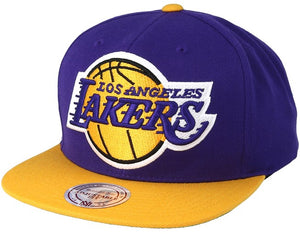 Mitchell and Ness LA Lakers Snapback